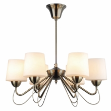 Top Light Romantica 6 - Lustre avec tige ROMANTICA 6xE14/60W/230V