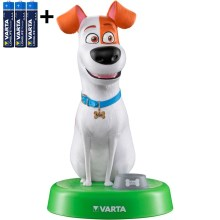 Varta 15641 - Lampe enfant LED THE SECRET LIFE OF PETS LED/3xAAA